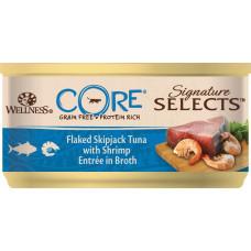 Wellness Core Cat Signature Selects Grain Free Tuna & Shrimp Flaked