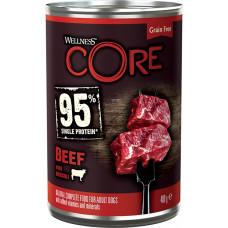 Wellness Core Dog 95 Adult Grain Free Beef & Broccoli
