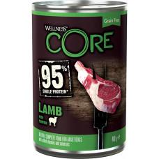 Wellness Core Dog 95 Adult Grain Free Lamb & Pumpkin