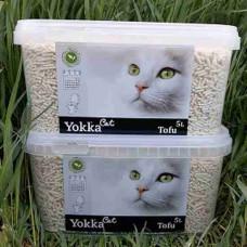 Yokka Cat Tofu Белый Гипоаллергенный