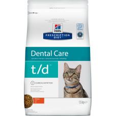 Hill's Prescription Diet Feline Dental Care t/d Chicken