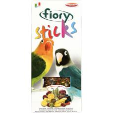 Fiory Sticks Палочки для средних попугаев с фруктами 2х60 г