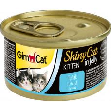 GimCat Shiny Cat Kitten (тунец)