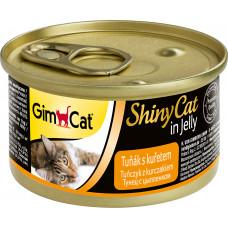GimCat Shiny Cat (тунец + цыпленок)