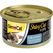 GimCat Shiny Cat (тунец + креветки)