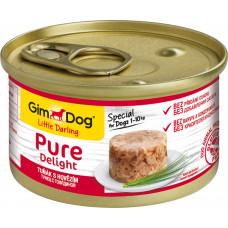 GimDog Pure Delight (тунец + говядина)