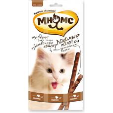 Мнямс Лакомые палочки для кошек (индейка, ягненок)