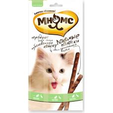 Мнямс Лакомые палочки для кошек (утка, кролик)