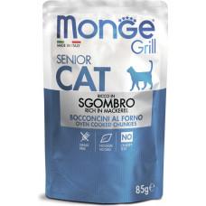 Monge Cat Grill Grain Free Senior Mackerel