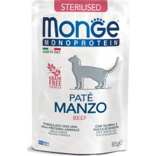 Monge Cat Monoprotein Pouch Sterilised Beef