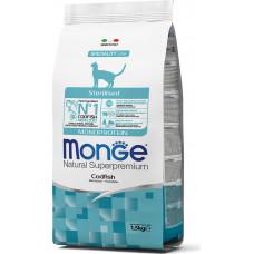 Monge Cat Speciality Line Monoprotein Sterilised Codfish
