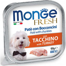 Monge Dog Fresh Pate Turkey