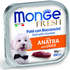 Monge Dog Fresh Pate Duck