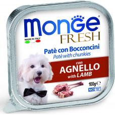Monge Dog Fresh Pate Lamb