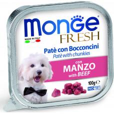 Monge Dog Fresh Pate Beef