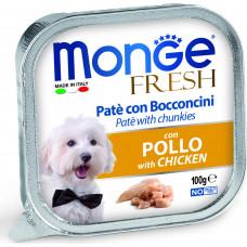 Monge Dog Fresh Pate Chicken