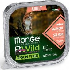 Monge BWild Cat Grain Free Salmon & Vegetables