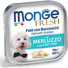 Monge Dog Fresh Pate Cod Fish