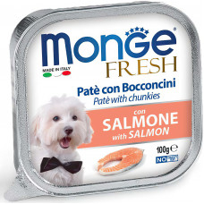 Monge Dog Fresh Pate Salmon