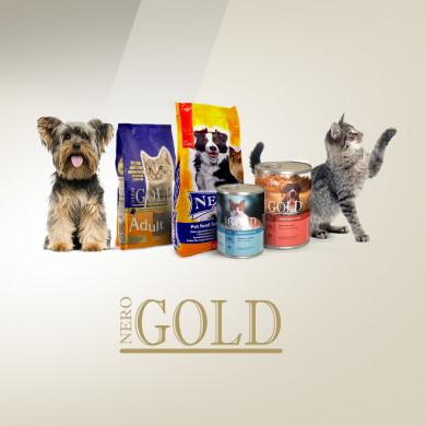 -15% на сухие корма Nero Gold!