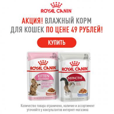 Снижение цен на Royal Canin!