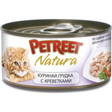 Petreet Куриная грудка с креветками 70 г