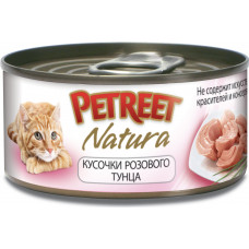 Petreet Кусочки розового тунца 70 г
