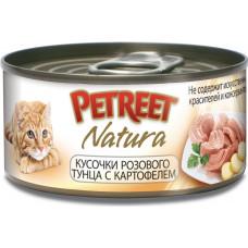 Petreet Кусочки розового тунца с картофелем 70 г