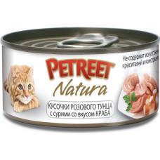Petreet Кусочки розового тунца с крабом сурими 70 г