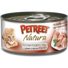 Petreet Кусочки розового тунца с лобстером 70 г