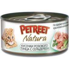 Petreet Кусочки розового тунца с сельдереем 70 г