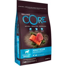Wellness Core Dog Adult Ocean Medium-Large Breed Grain Free Salmon & Tuna