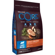 Wellness Core Dog Adult Original Large Breed Grain Free Chicken