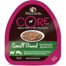 Wellness Core Dog Adult Savoury Medleys Small Breed Grain Free Lamb, Venison, White Sweet Potato & Carrot