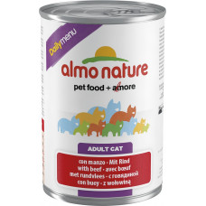 Almo Nature Adult Cat Daily Menu Beef 400 г