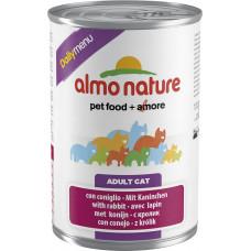 Almo Nature Adult Cat Daily Menu Rabbit 400 г