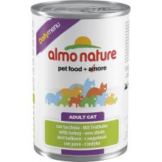 Almo Nature Adult Cat Daily Menu Turkey 400 г