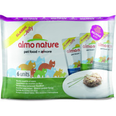 Almo Nature Adult Cat Classic Assorted Tuna Recipes MutliPack 6 x 55 г