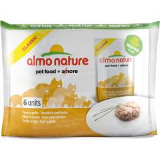 Almo Nature Adult Cat Classic Tuna & Chicken ValuePack 6 x 55 г
