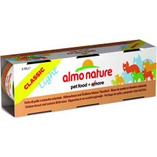 Almo Nature Adult Cat Classic Light Chicken Breast & Eastern Little Tuna 3 x 50 г