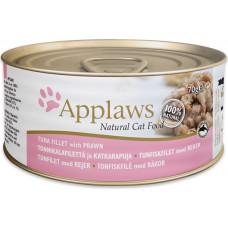 Applaws Cat Tuna Fillet with Prawn