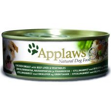 Applaws Dog Chicken Breast with Beef Liver & Vegetables