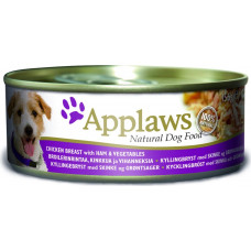 Applaws Dog Chicken Breast with Ham & Vegetables