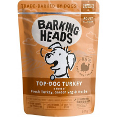 Barking Heads Top Dog Turkey / Бесподобная индейка 300 г