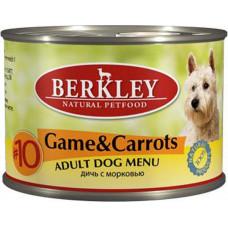 Berkley Dog Game & Carrots (Venison & Carrots)