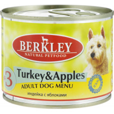 Berkley Dog Turkey & Apples