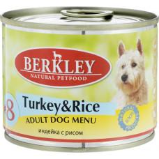 Berkley Dog Turkey & Rice