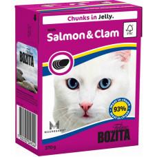 Bozita Feline Salmon & Clam