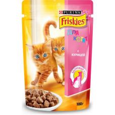Purina Friskies для Котят с Курицей