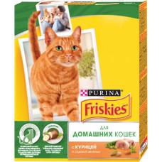 Purina Friskies для Домашних Кошек с Курицей и Полезными Овощами
